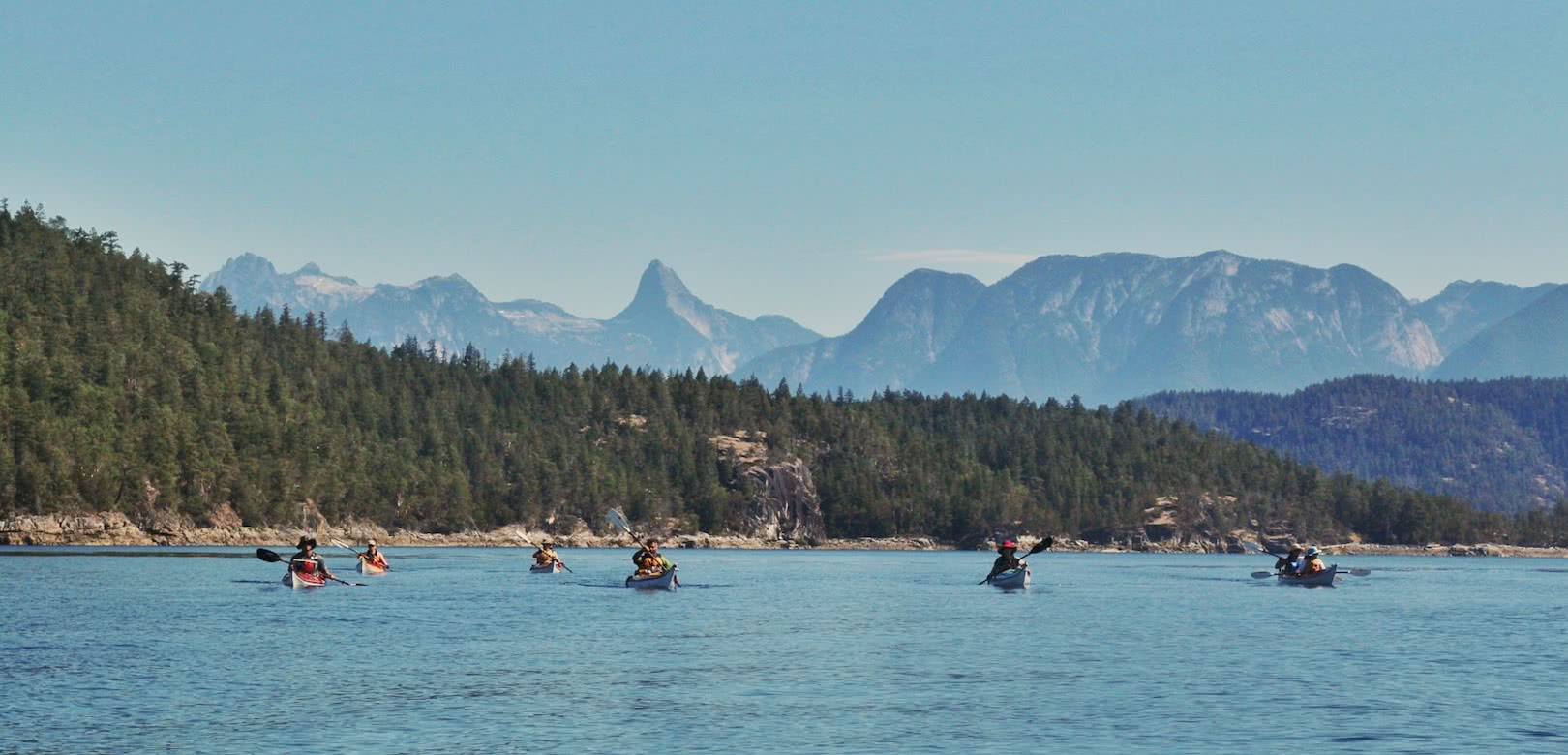 Desolation Sound is one of British Columbia's premier kayak destinations