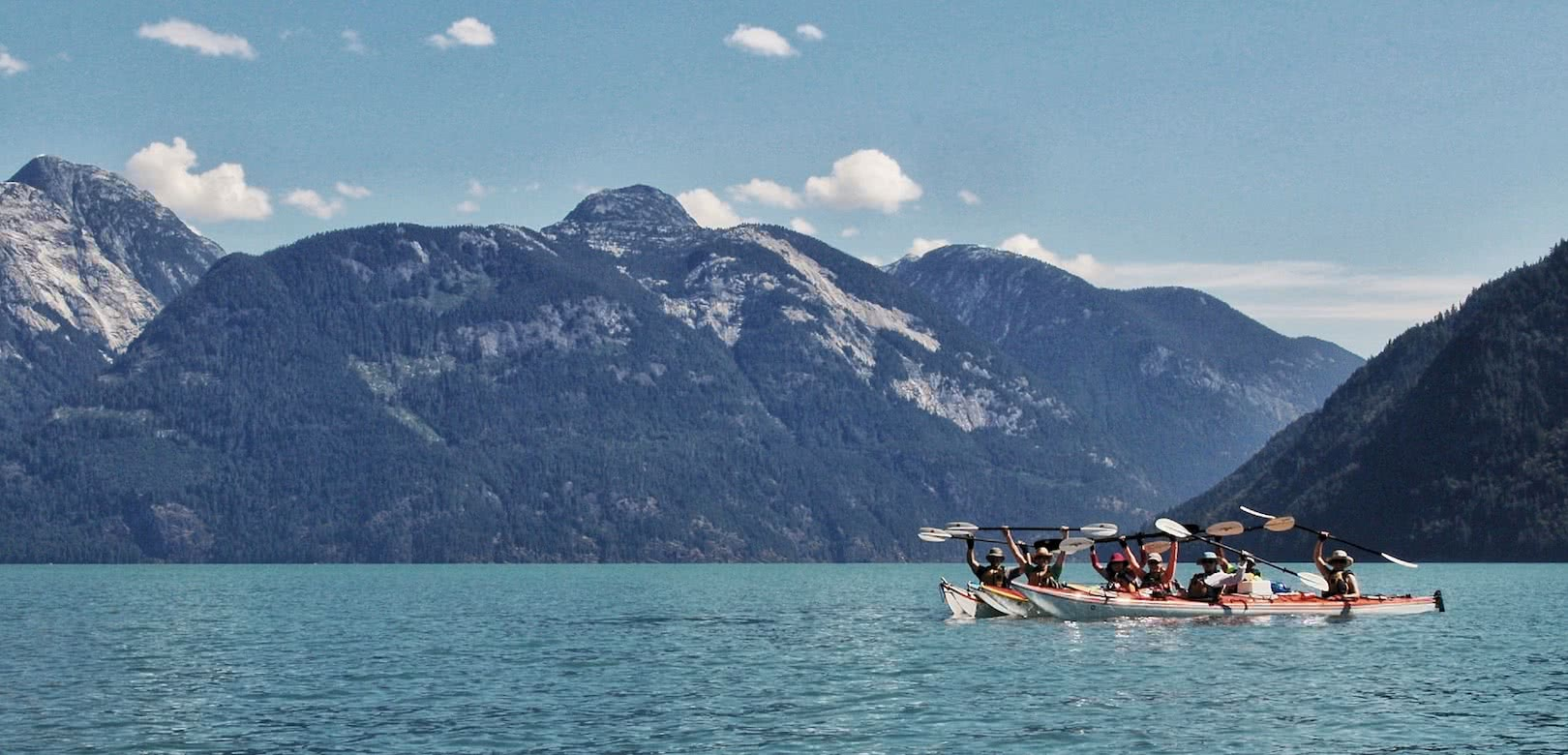 Toba Inlet north of Desolation Sound is one of our favourite kayak destinations