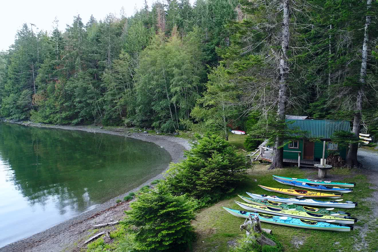 Employment with Powell River Sea Kayak in a beautiful, outdoor location on the Sunshine Coast of British Columbia