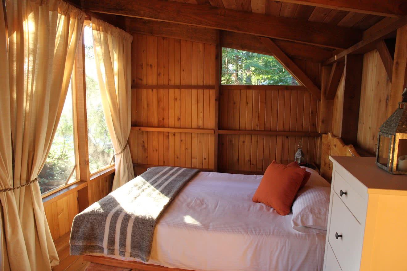 Cabana Desolation Eco Resort accommodations in Desolation Sound