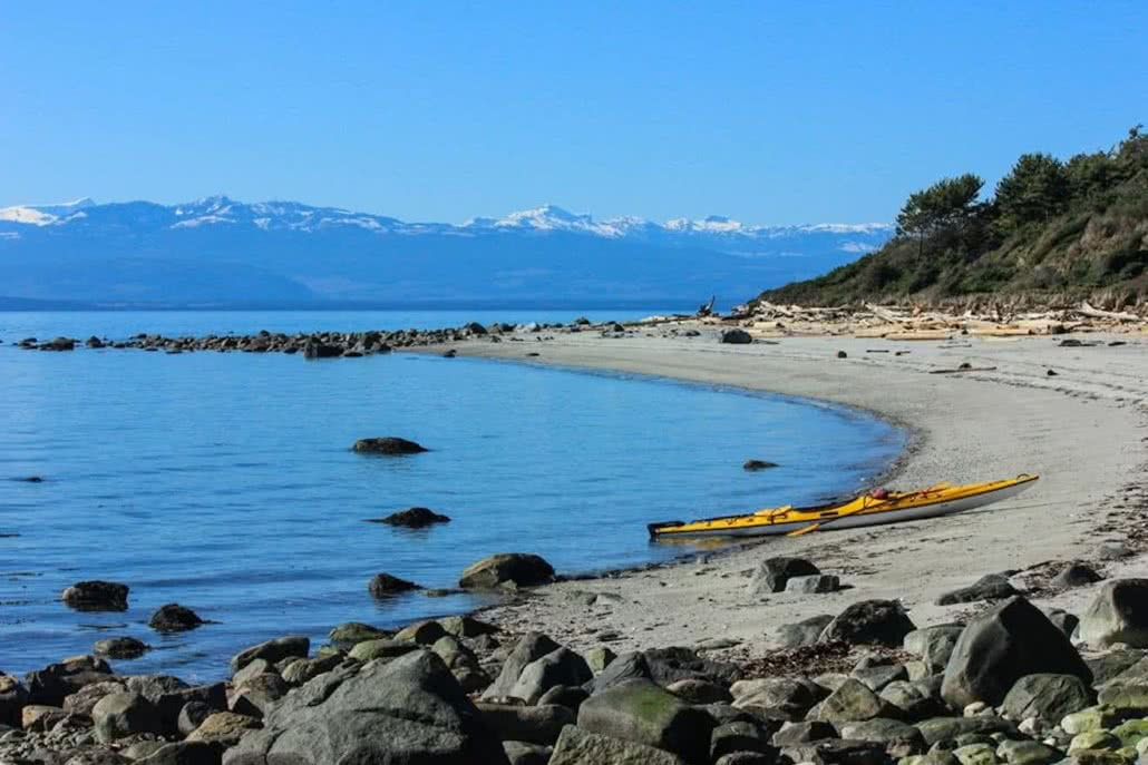 Sandy Savary Island is home to some of the most famous Powell River beaches