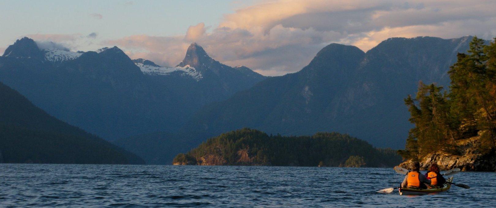 Kayak rental vancouver, the Sunshine Coast & Powell River for Desolation Sound