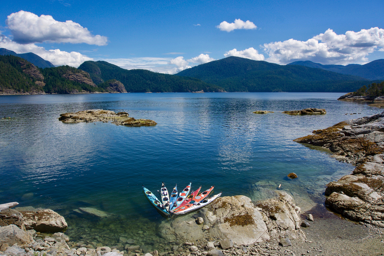 Summer is the best time to visit Desolation Sound